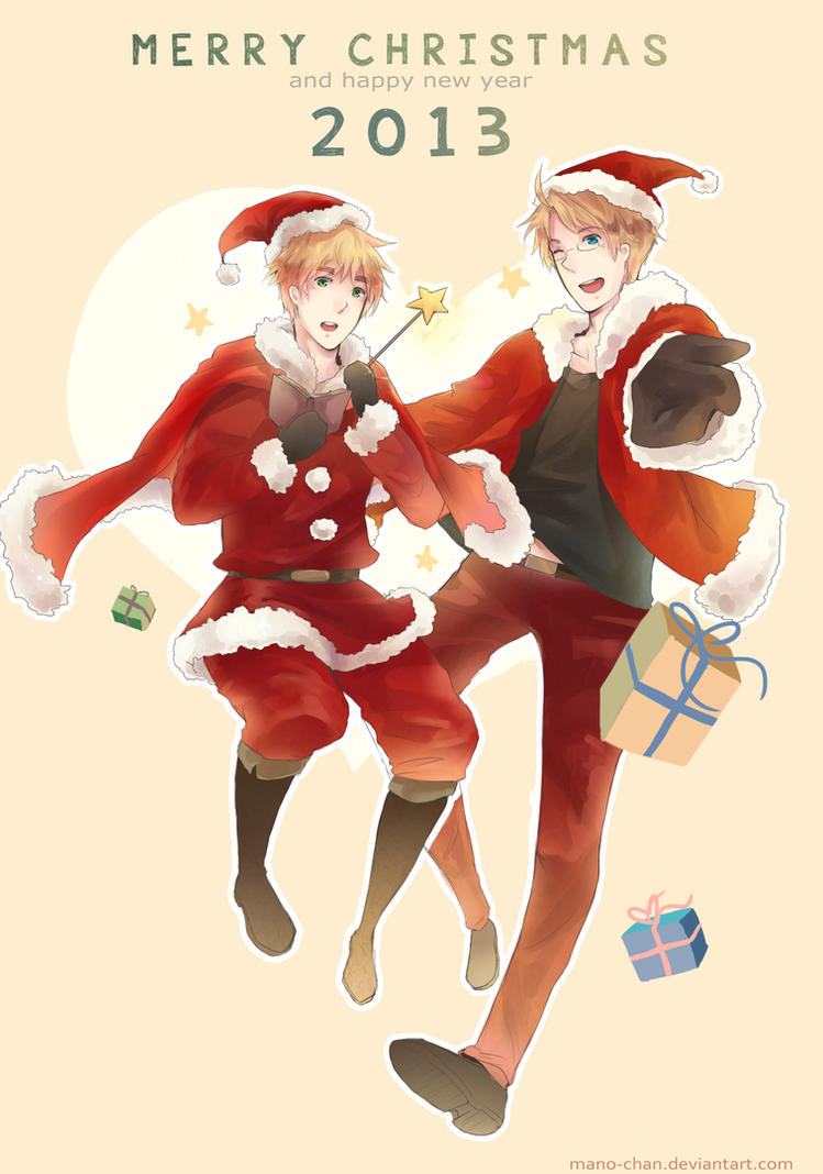 APH - Merry Christmas!! by Mano-chan