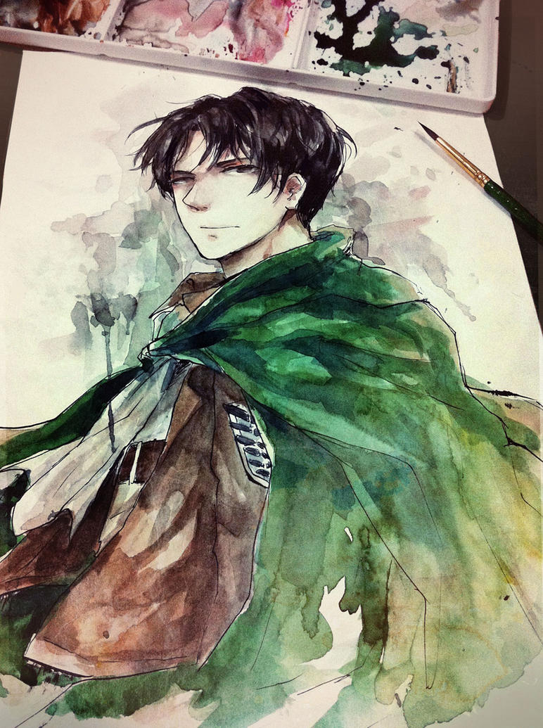 SnK - Levi by Mano-chan