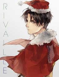 :LEVI: Merry X'mas by Mano-chan