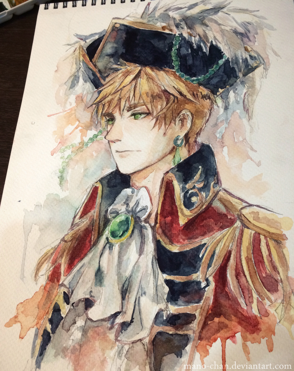 Pirate!England by Mano-chan