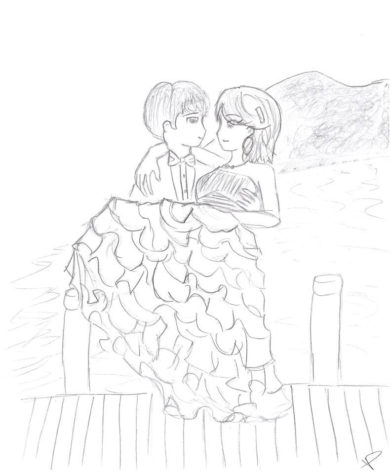 Wedding Commission by pikachewychu