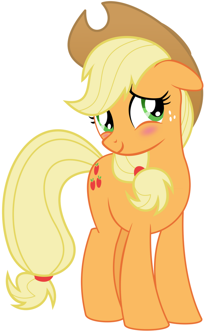 Applejack Blush by EmberFiremane