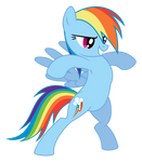 The Bold Rainbow Dash