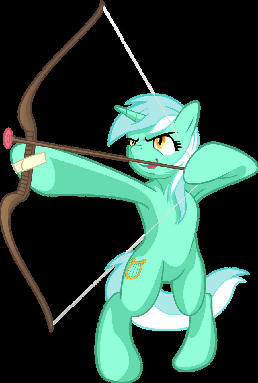 Lyra the Archer by EmberFiremane