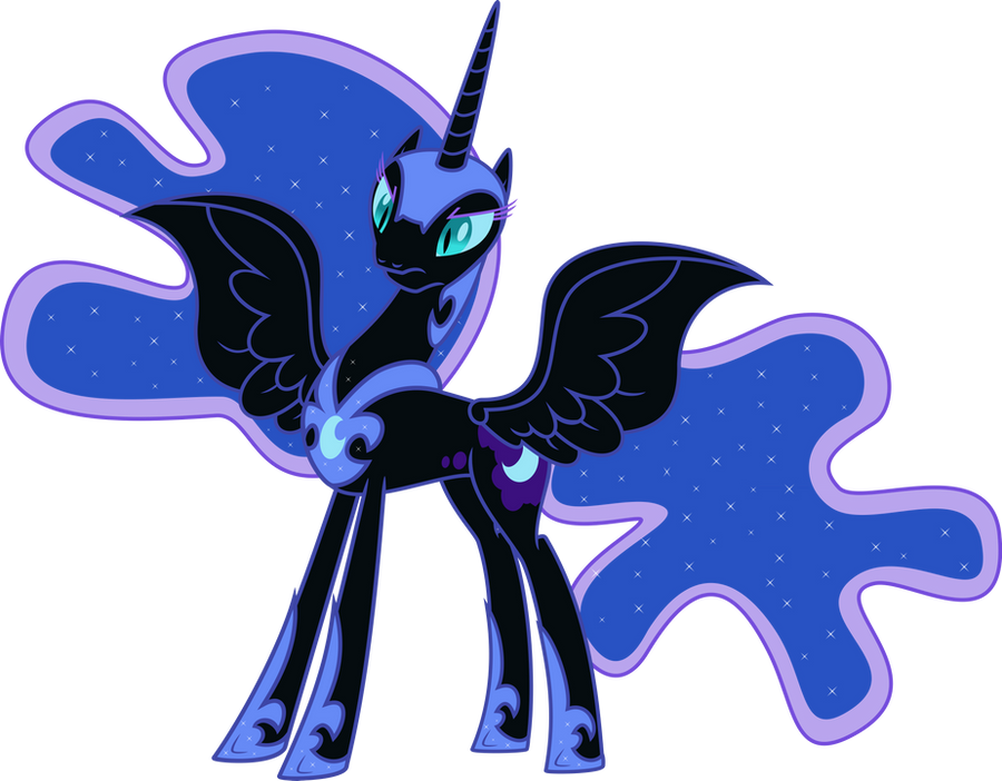 Nightmare Moon by EmberFiremane