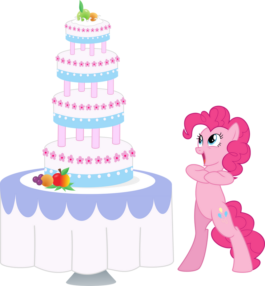 Cake Images With Name Pinky : Pinkie Pie and Cake by EmberFiremane on DeviantArt