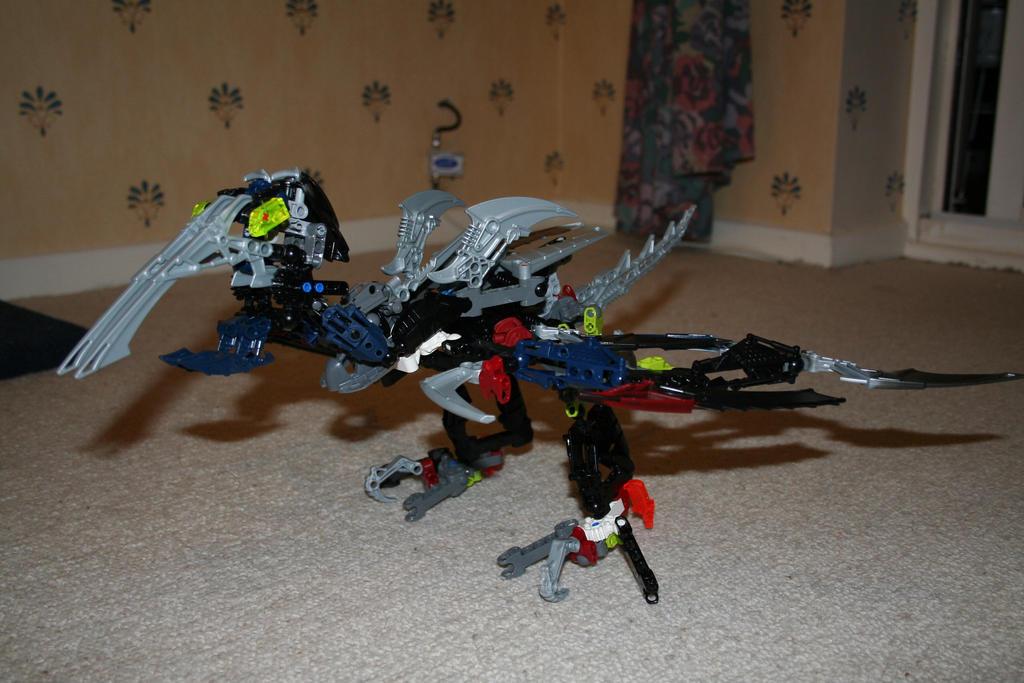 Bionicle MOC: Pterodactyl by Rahiden
