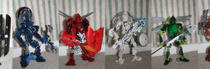 Bionicle MOC: The Titans 1 by Rahiden