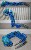 Bionicle MOC: Seasnake by Rahiden