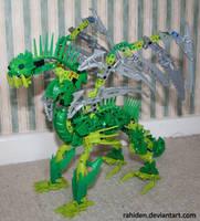 Bionicle MOC: Air Dragon by Rahiden