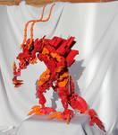 Bionicle MOC: Flame Dragon