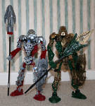 Bionicle MOC: Norik and Iruini