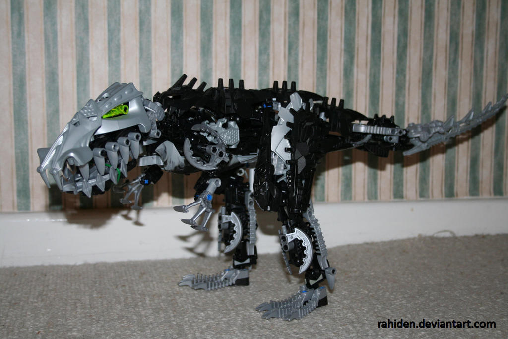Bionicle MOC: Skirmix Rex 2 by Rahiden