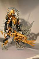 Bionicle MOC: Mata Nui by Rahiden