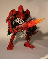 Bionicle MOC: Flame Titan by Rahiden