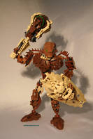 Bionicle MOC: Stone Titan by Rahiden