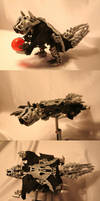 Bionicle MOC: Flying Squirrel