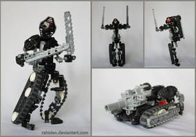 Bionicle MOC: Transformer by Rahiden