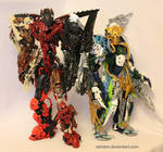 Bionicle MOCs: Two Brothers