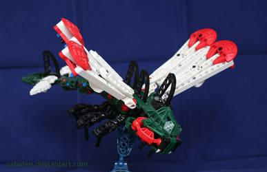 Bionicle PokeMOC: Yanmega by Rahiden