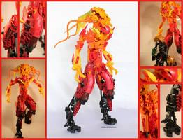 Bionicle MOC: Overheat 2.0 by Rahiden