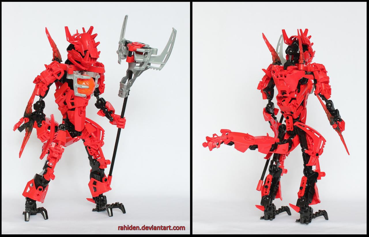 Hero Factory MOC: Daedra by Rahiden