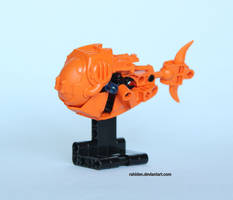 Hero Factory MOC: Goldfish by Rahiden