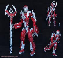 Bionicle MOC: Psystrike by Rahiden