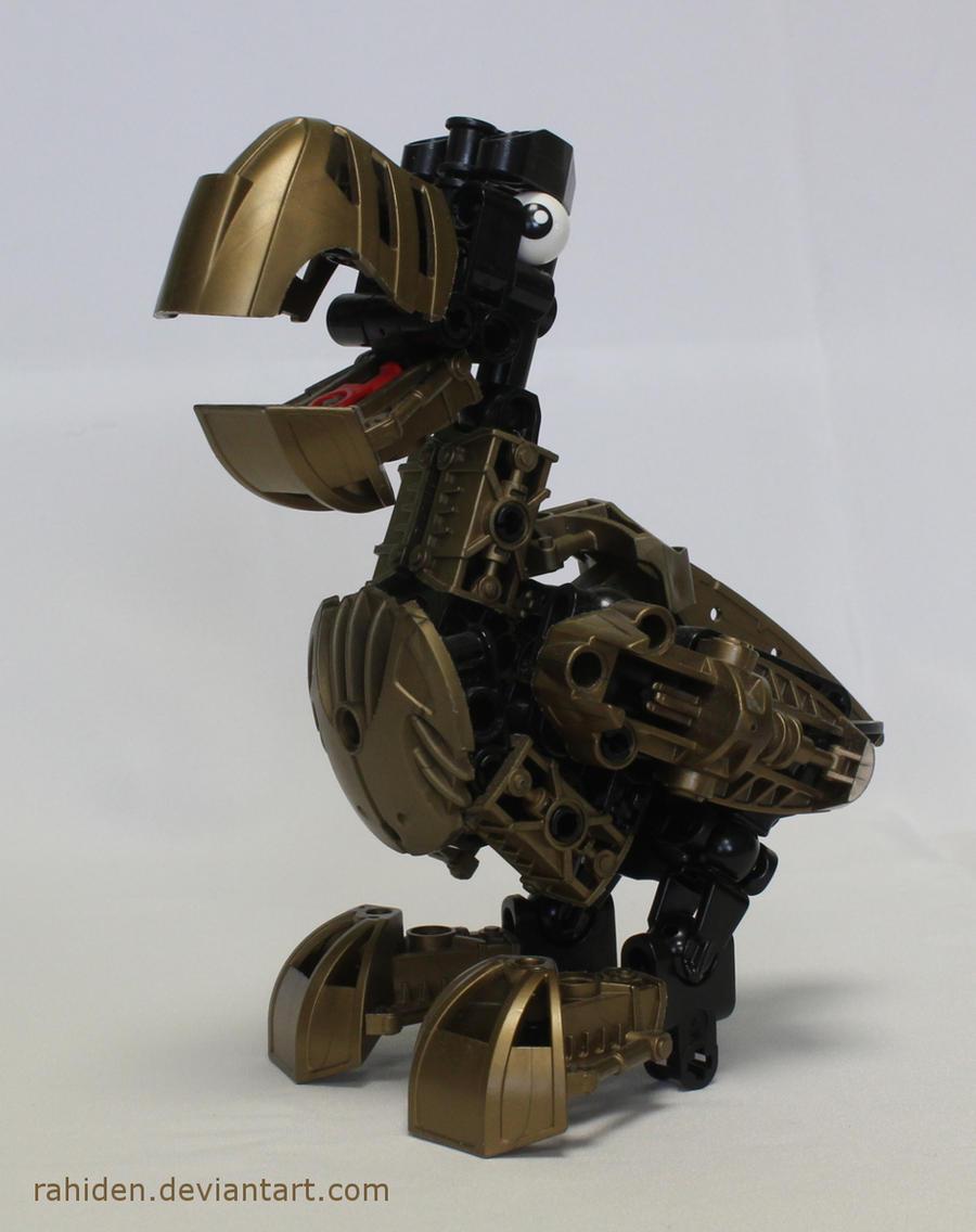 Bionicle MOC: Dodo by Rahiden