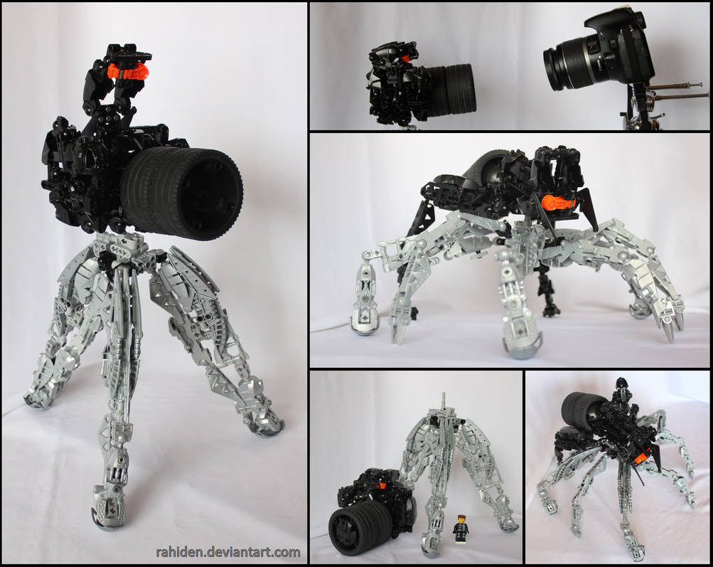 Hero Factory MOC: Camera Spider