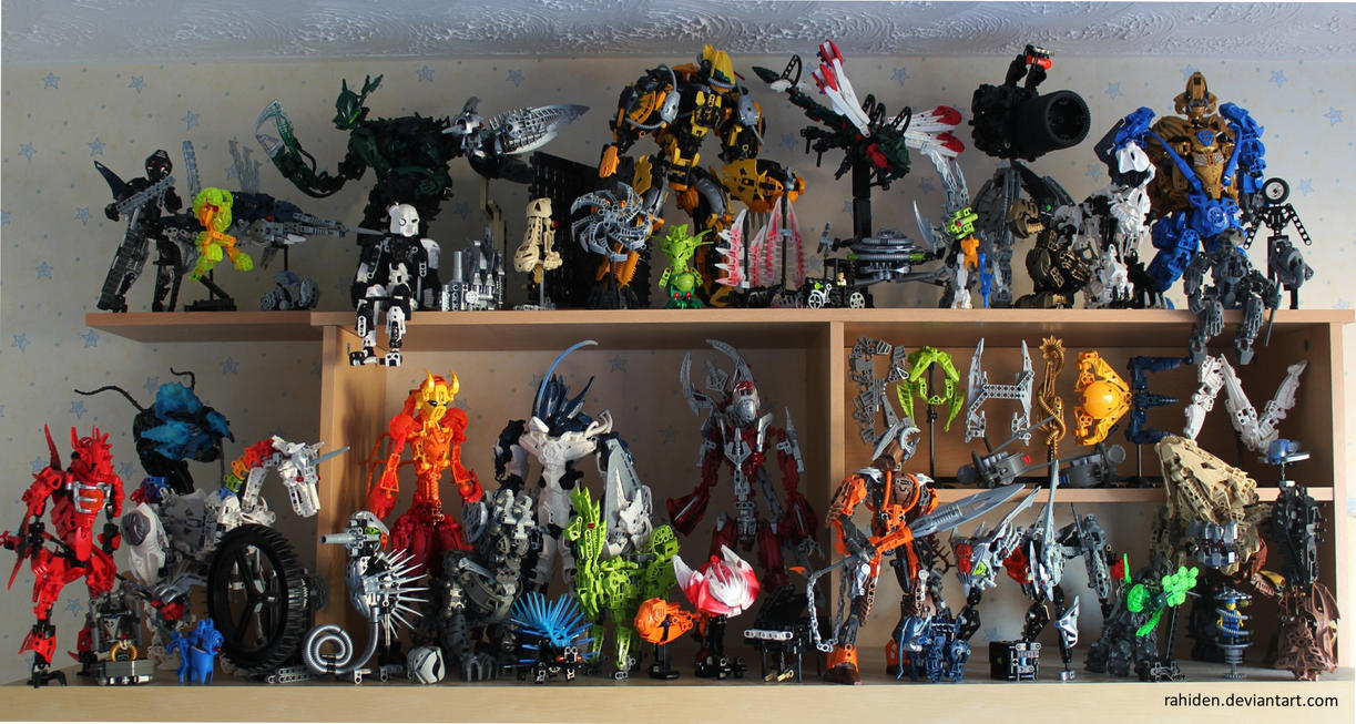 Bionicle MOCs - December 2013 by Rahiden