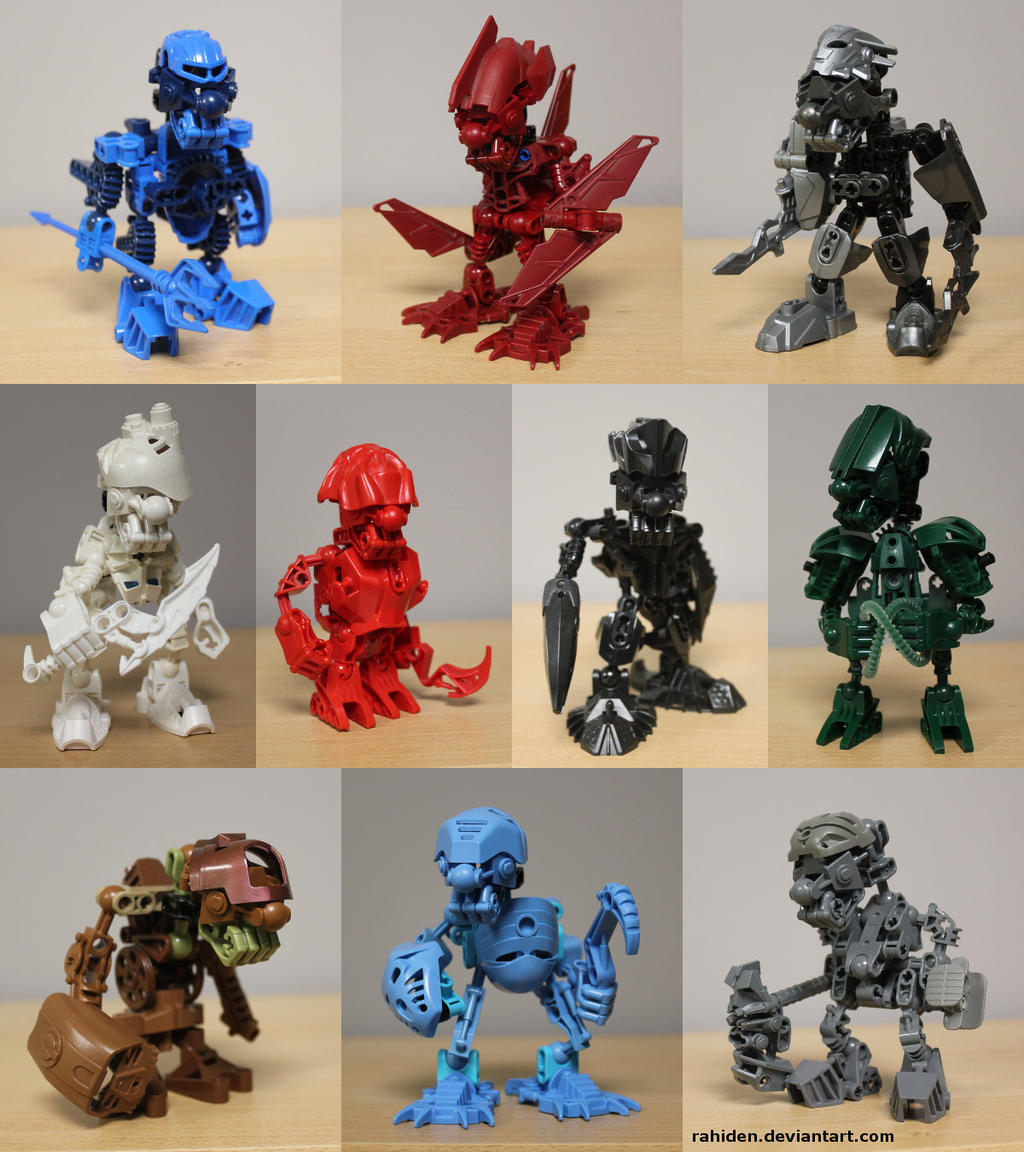 Bionicle MOCs: Kromo Goblins