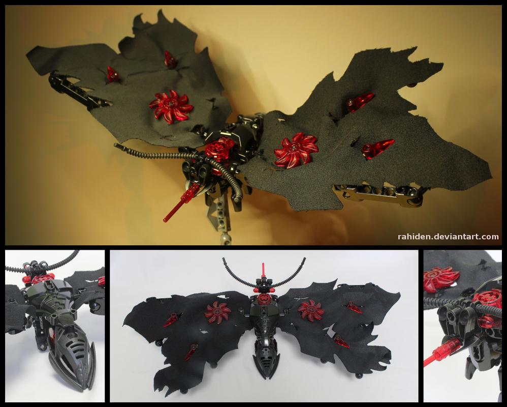 Bionicle MOC: Mortiven Moth by Rahiden