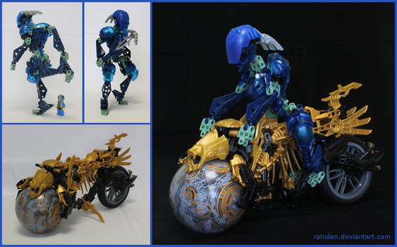 Bionicle MOC: Perseid and the Coruscant