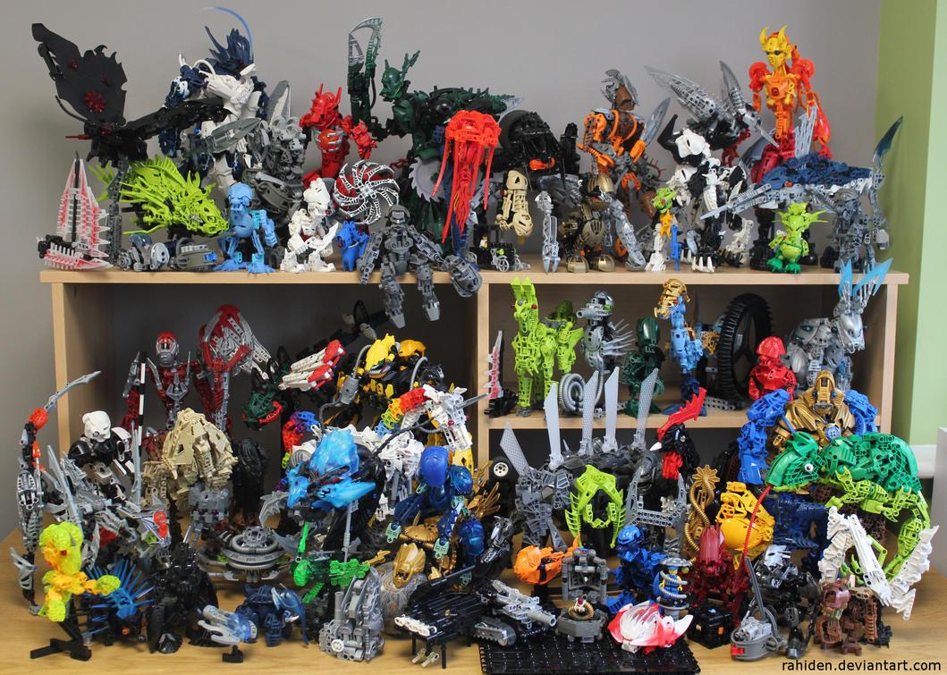 Bionicle MOCs - December 2014 by Rahiden