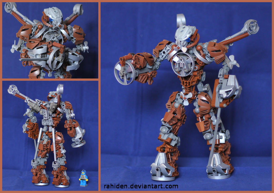Bionicle MOC: Stator by Rahiden