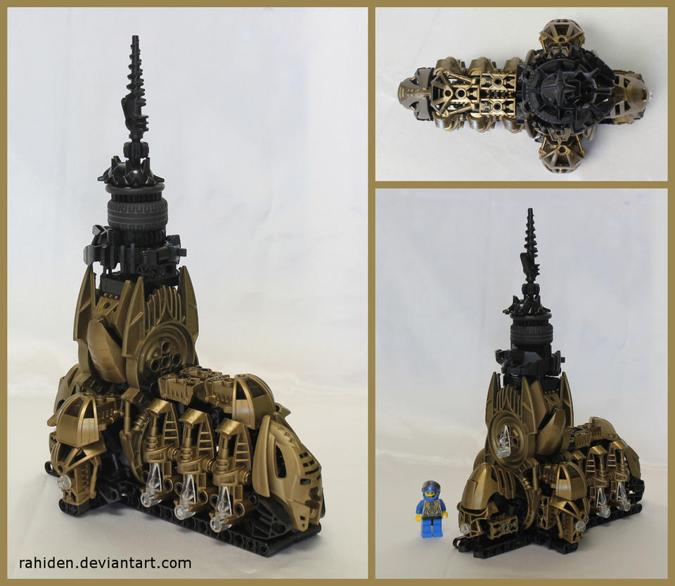 Bionicle MOC: Kraahkan Cathedral by Rahiden