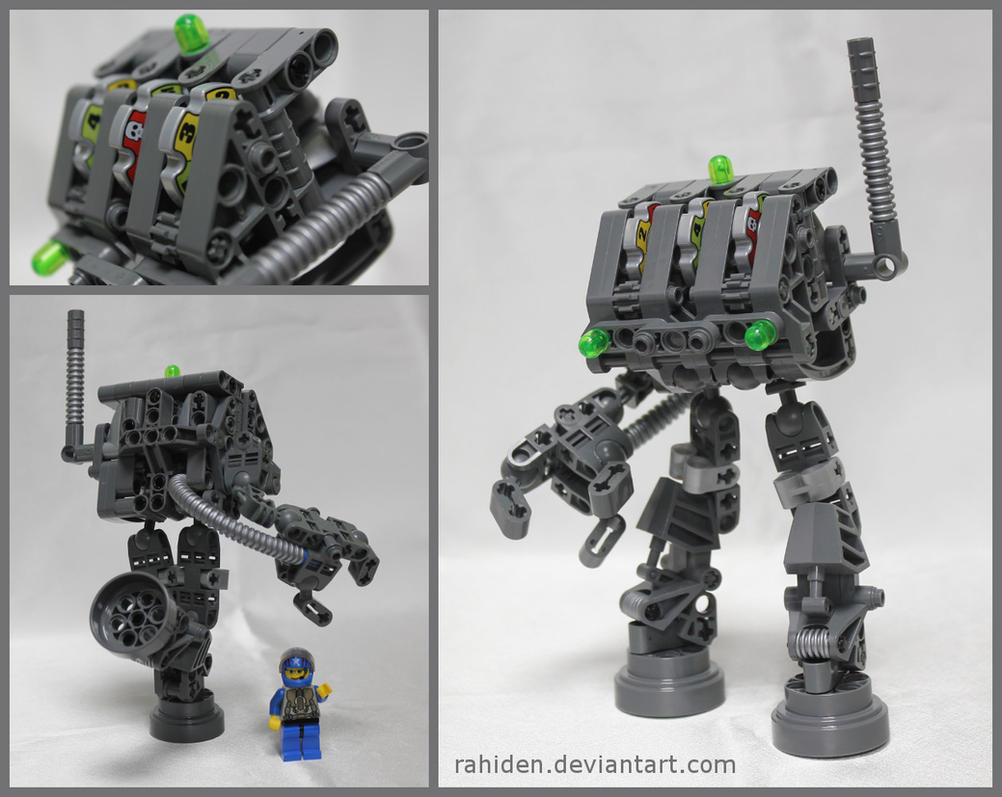 Bionicle MOC: Slotbot 51-07 by Rahiden