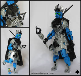 Bionicle MOC: Queen of Spades by Rahiden