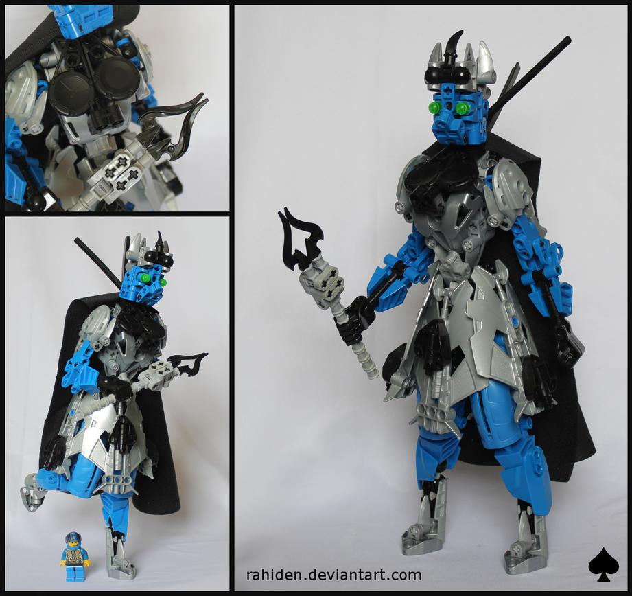 Bionicle MOC: Queen of Spades by Rahiden