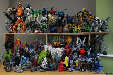 Bionicle MOCs - December 2015 by Rahiden