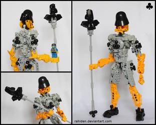 Bionicle MOC: Jack of Clubs by Rahiden