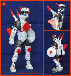 Bionicle MOC: Ace of Diamonds by Rahiden