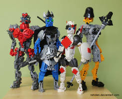 Bionicle MOCs: House of Cards