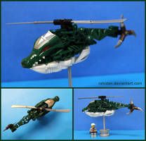 Bionicle MOC: Helicragger by Rahiden
