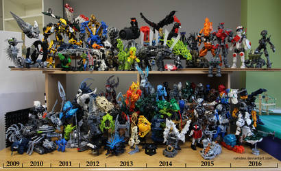 Bionicle MOCs - December 2016 by Rahiden