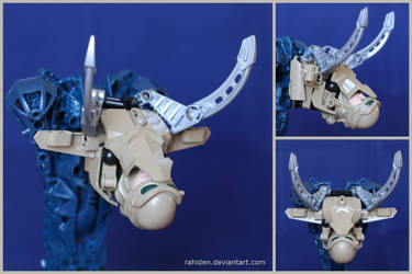 Bionicle MOC: Mounted Bull Head