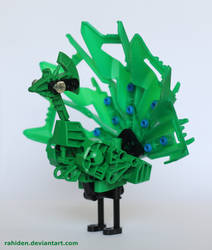 Bionicle MOC: Peacock