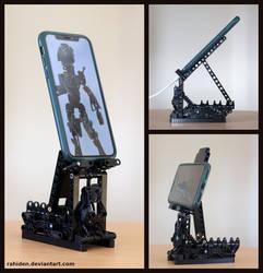 Bionicle MOC: Phone stand