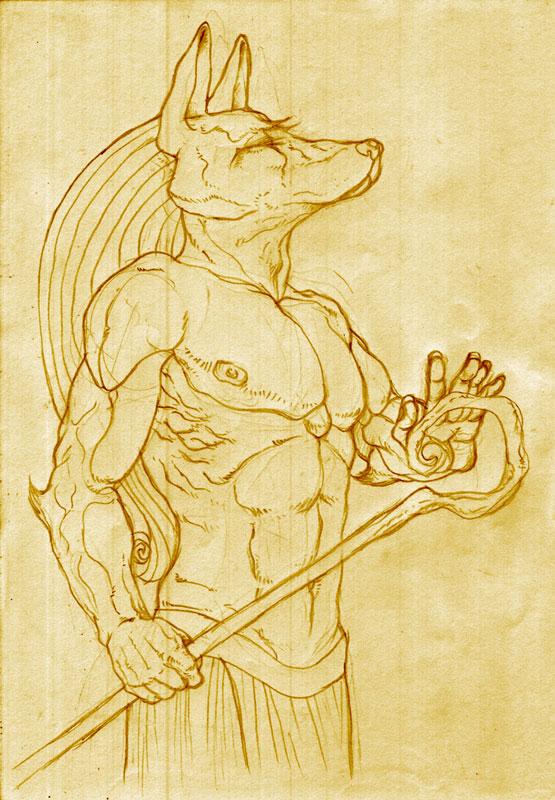 Anubis, Anubis by gingertom84